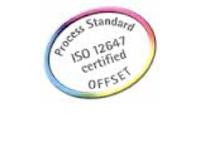 Contrôle du processus d'élaboration des sélections de couleur en demi-tons, essais et impressions. La norme ISO 12647-2 est le standard convenu par les spécialistes européens et CeGe l'a implanté dans ses machineries et ses processus. La stabilité des couleurs des produits des clients est garantie. Par exemple, si vous définissez un bleu concret, nous vous assurons qu'il pourra être répété de nombreuses reprises et dans différents projets.